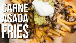 Best Carne Asada Fries ever by SAM THE COOKING GUY