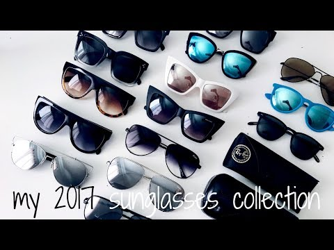 Sunglasses Collection 2017 || QUAY AUSTRALIA + CHANEL + MORE || Eliana Jalali