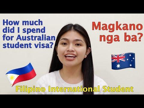 AUSTRALIAN STUDENT VISA COST | FILIPINO INTERNATIONAL STUDENT