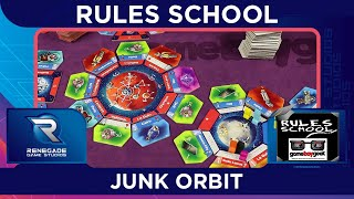 How to Play Junk Orbit (Rules School) with the Game Boy Geek