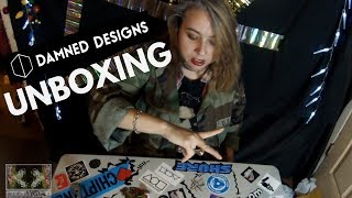 Unboxing: Damned Designs prototype knuckle roller