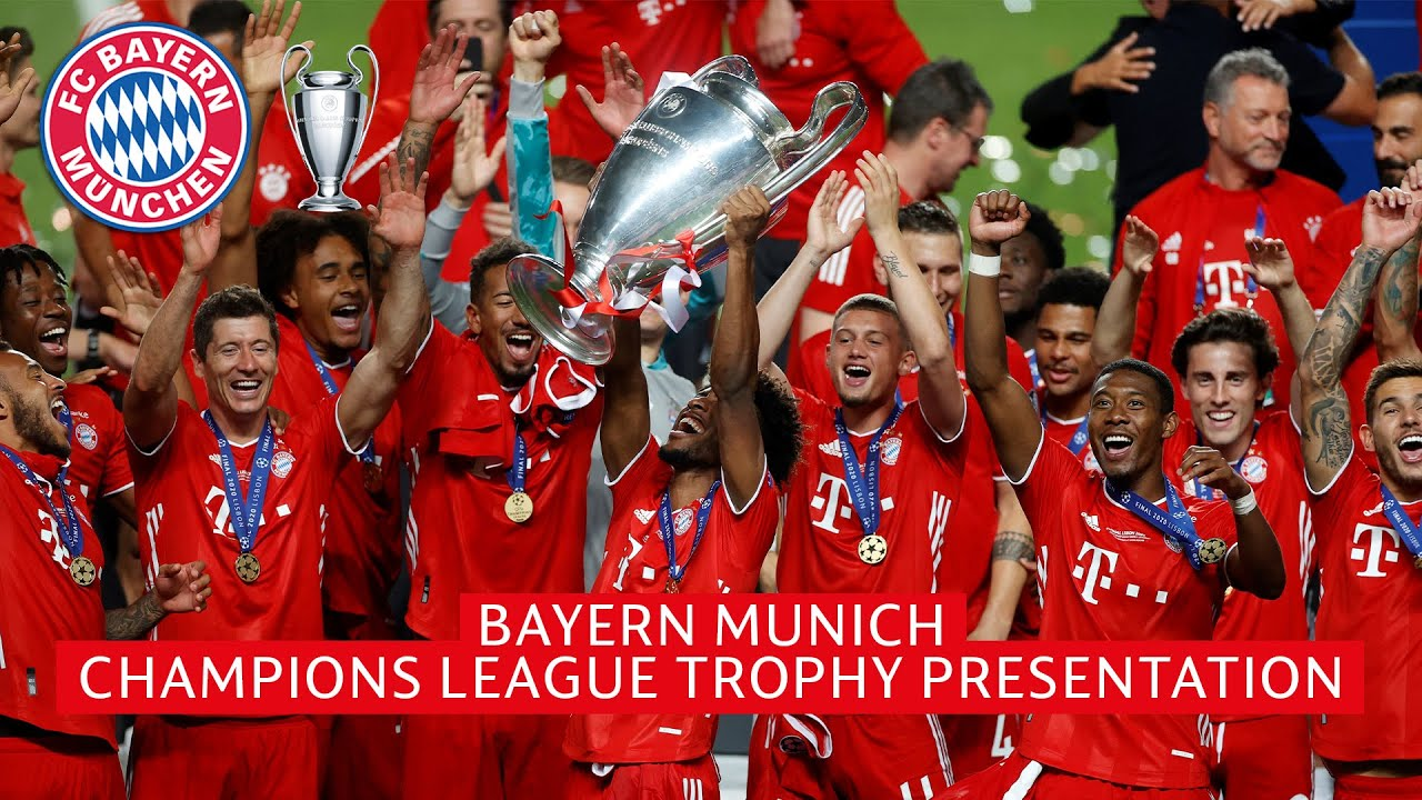 Bayern Munich Lift Their Sixth Champions League Trophy Ucl On Cbs Sports Youtube