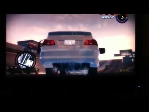 Epic fail car on saints row 2