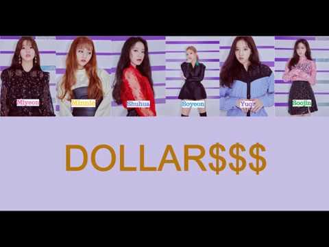 【韓中字+認聲】(G)I-DLE - DOLLAR(달라)$$$