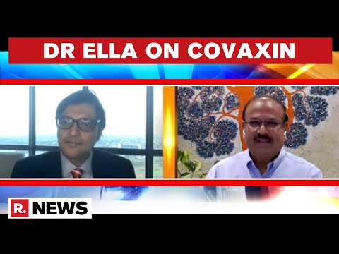 Bharat Biotech MD Dr Krishna Ella Explains The Manufacturing Process Of COVAXIN