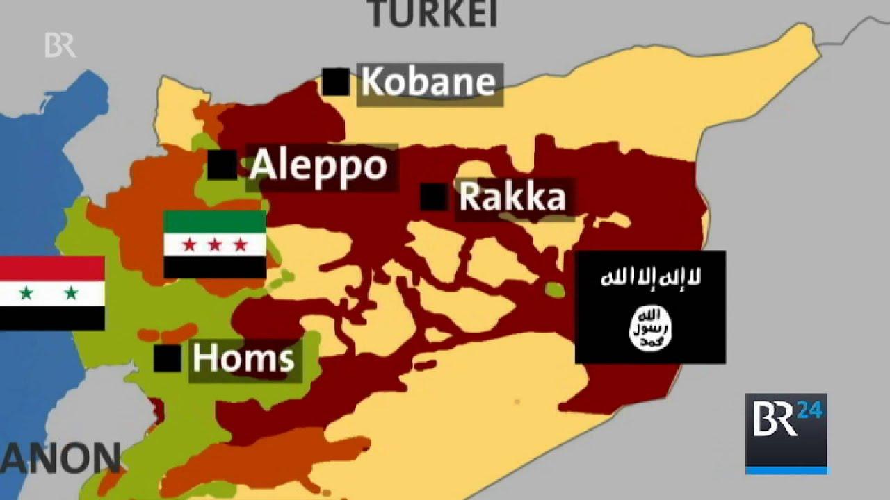 Syrien Karte Krieg.Bürgerkrieg In Syrien Wer Kämpft Wo Gegen Wen Und Warum überhaupt Br24