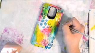 Tutorial on painting your cell phone case