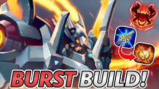 Lubu's NEW Assassin Build ONE-SHOTS Everything!   Arena of Valor