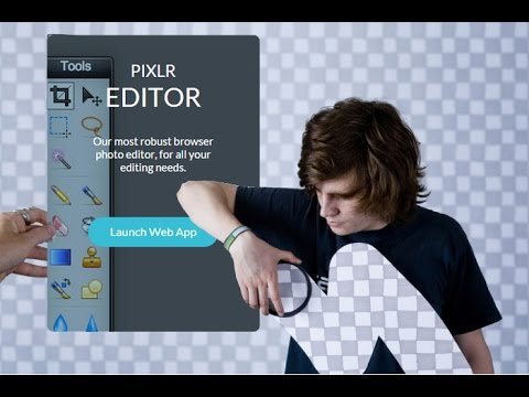 Pixlr editor - аналог фотошопа онлайн.