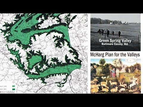 Ian McHarg's ecological approach to landscape planning