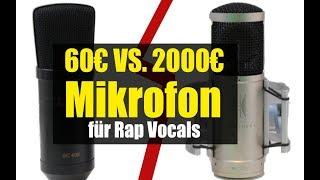 60€ gegen 2000€Mikrofon. Welches Mikrofon klingt bei Rap Vocals besser? :: abmischenlernen.de