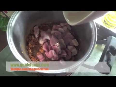 สูตรอาหาร วิธีทำแกงอ่อมหมู ของคนเมืองเหนือ