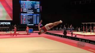 VAGNER Levente (HUN) - 2015 Artistic Worlds - Qualifications Floor Exercise