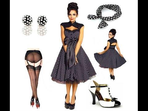 Petticoat Kleid in schwarz mit weißen Polka Dots + Outfit Tipps ...