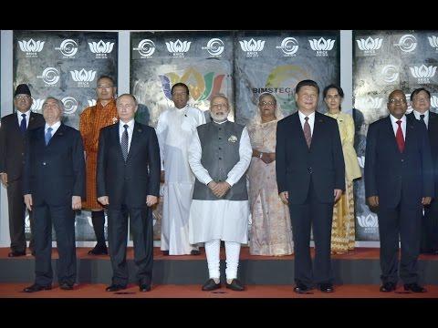 PM Modi at BRICS-BIMSTEC Outreach Summit in Goa, India