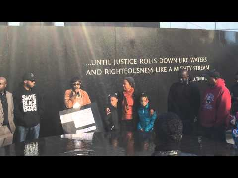 Ferguson Rally in Montgomery @ Civil Rights Memorial Center