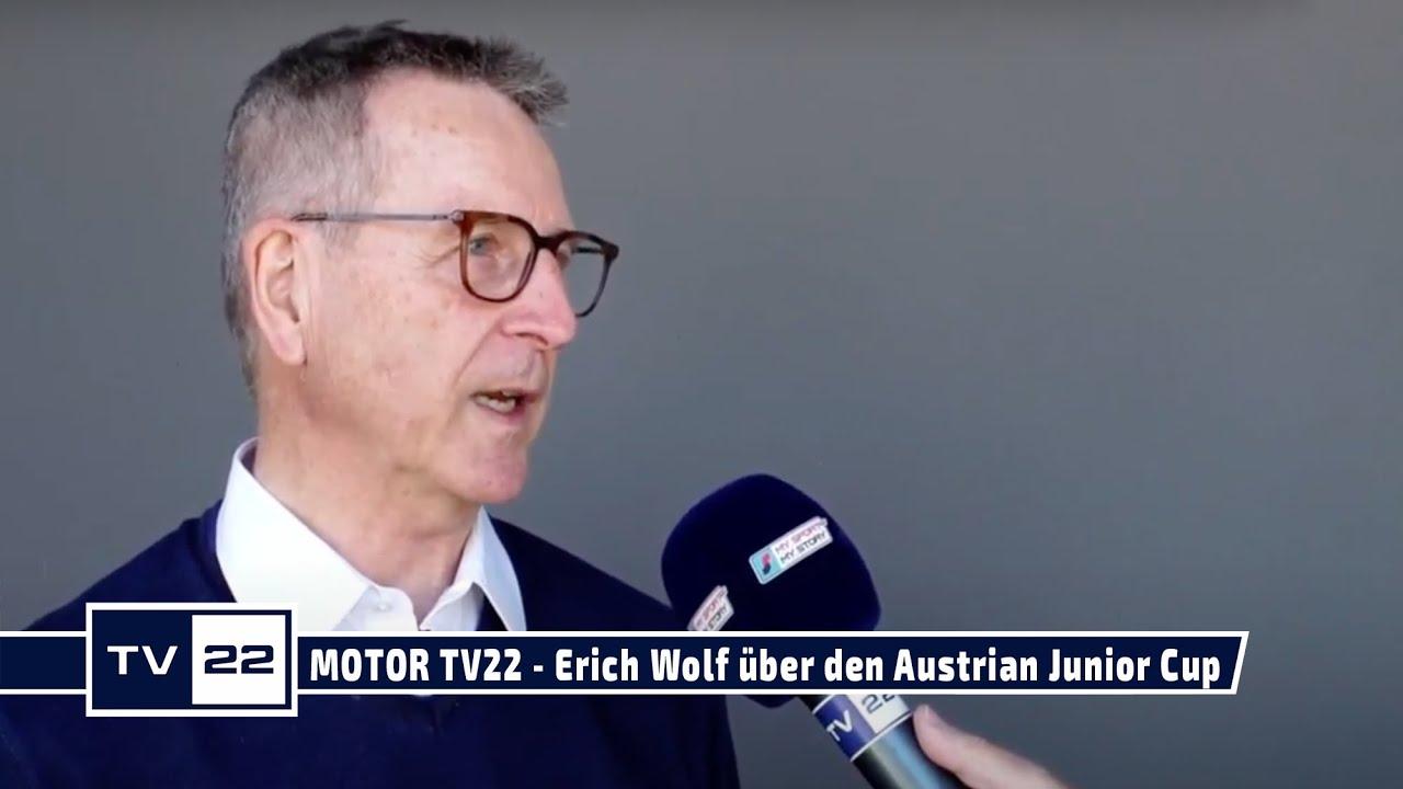 MOTOR TV22: Erich Wolf, General Manager Projekt Spielberg, über den Austrian Junior Cup