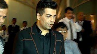 Karan Johar Avoids Questions On KRK Ajay Devgan Controversy