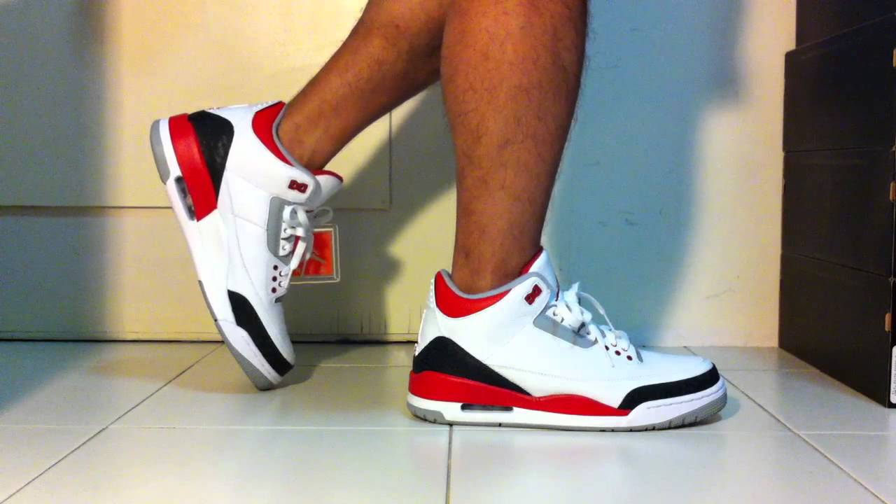 hot nike air jordan 3 fire rouge 2013 f94b3 c5883