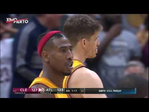 Kyle Korver Silences the Crowd Cavaliers vs Hawks March 3 2017