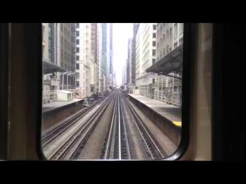 CTA Pink Line L Train, 26 May 13