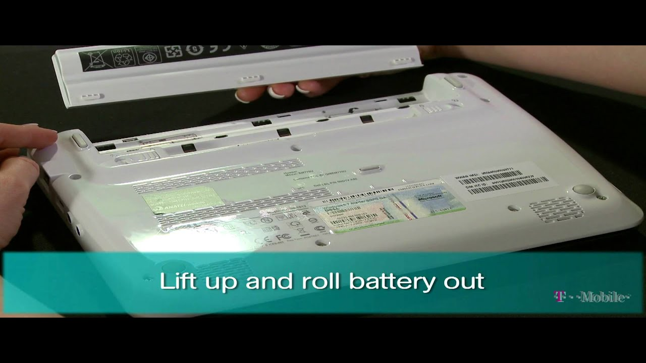 How To Install A Battery >> How to Install the SIM card and Battery - YouTube