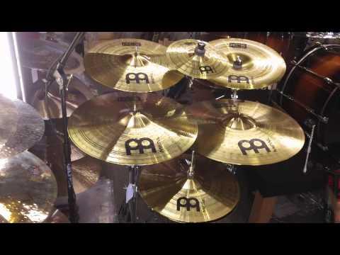 Meinl HCS Cymbal Super Set - 20r, 18c, 16c, 16ch, 14h, 10s