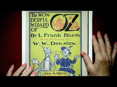 The Wonderful Wizard of Oz --  Part 1  -- Read by Nita