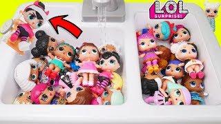Heartbreaker Baby Custom LOL Surprise Dolls in Kitchen Sink