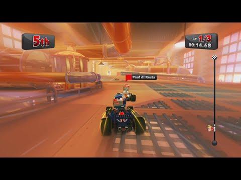 F1 Race Stars / Belgium / Game Play / No.001 |