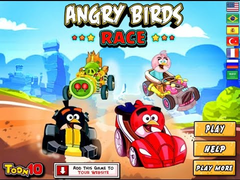 Play Angry Birds Car Racing Games Free Online - YouTube