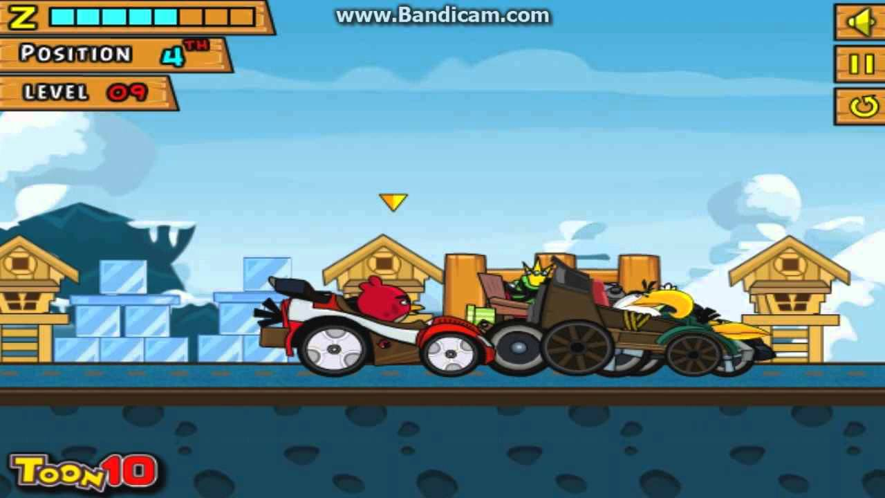 Angry Birds Race- Play Angry Birds Race online at Car Games