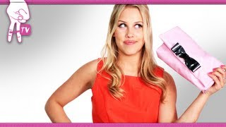 How to Make the Ted Baker Pink Leda Clutch - 2 DIY For Ep 21