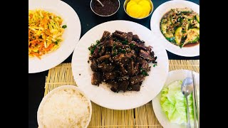 Korean BBQ And Sides Recipe