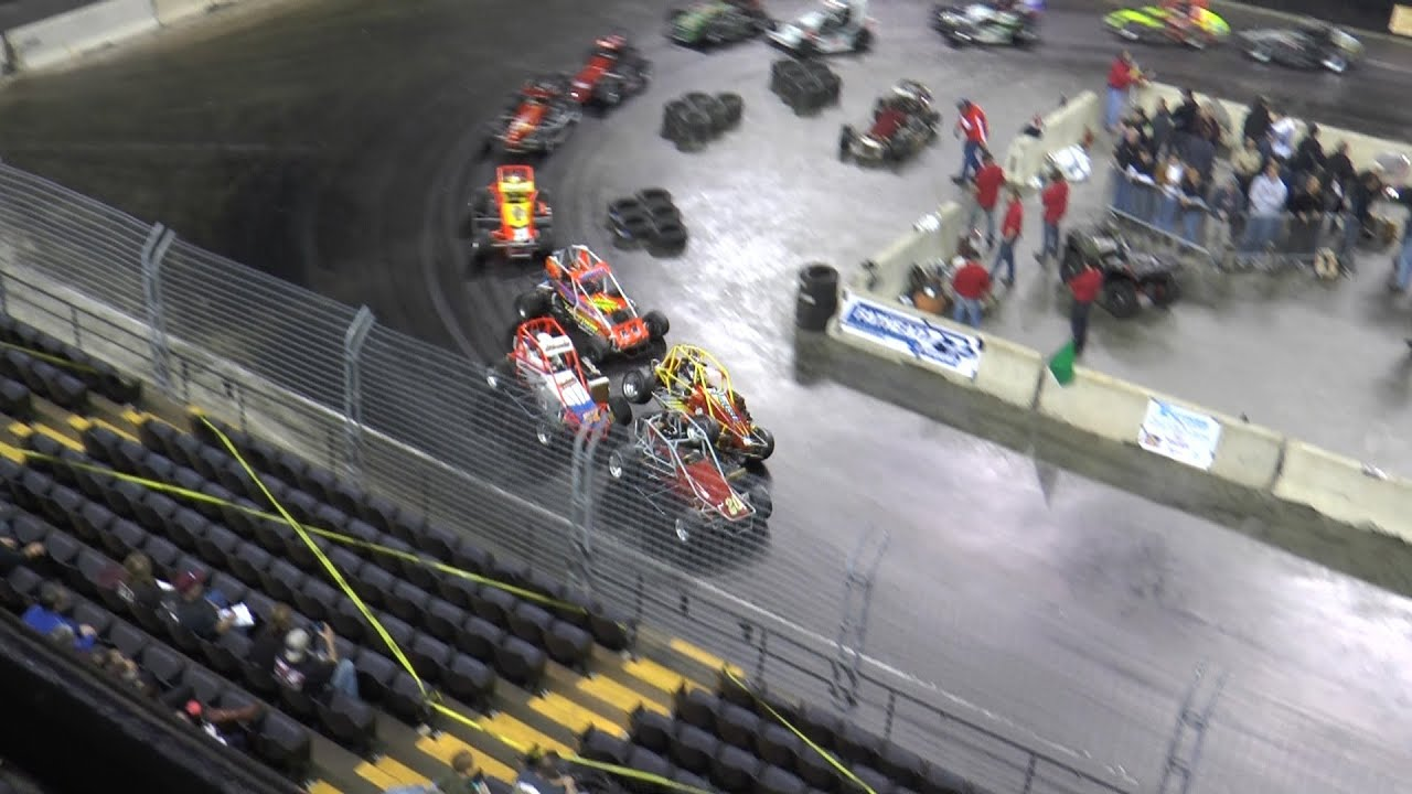 Indoor midget racing