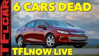 GM Kills 6 Models and Closes Plants Throughout North America: TFLnow Live #76