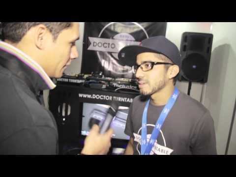 Entrevista Victor X / Planeta Café al Stand de Dr. Turntable