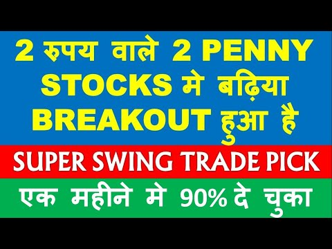 2 Penny Stocks of 2 rupees with breakout | penny shares to buy now | top penny stocks news