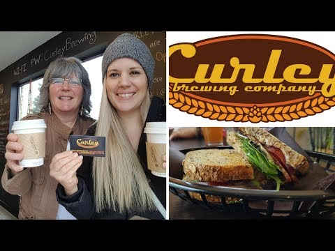WHAT WE ATE AT VEGAN CAFE | CURLEY BREWERY COMPANY | LONDON ONTARIO