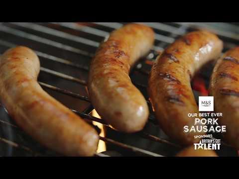 M&S Food & Britain's Got Talent   Our Best Ever Pork Sausage
