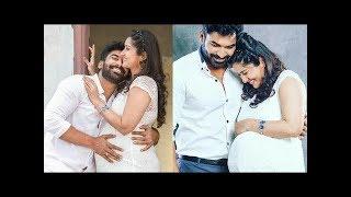Mogalirekulu Serial Actor Sagar wife Soundarya Maternity Shoot Photos | Tollywood Today