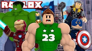 I BECOME in the MOST STRONG SUPERHERO OF ROBLOX !!