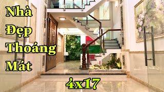 Bán Nhà Gò Vấp [59] Nhà Ống 4x17m 4 Lầu. Thiết kế Hiện Đại, Thông Thoáng.Hợp phong Thuỷ. Giá 6.46 Tỷ