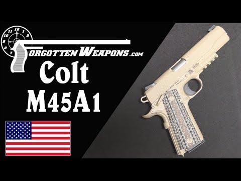 USMC Force Recon & MEUSOC: the M45A1