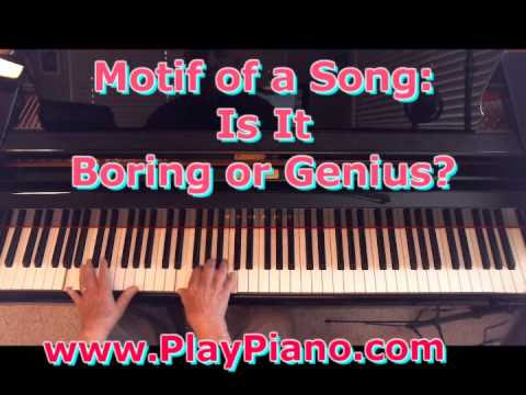 Creating A Motif For A Song