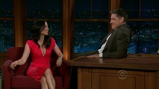 Late Late Show with Craig Ferguson 12/9/2010 Lucy Liu, Jody Williams
