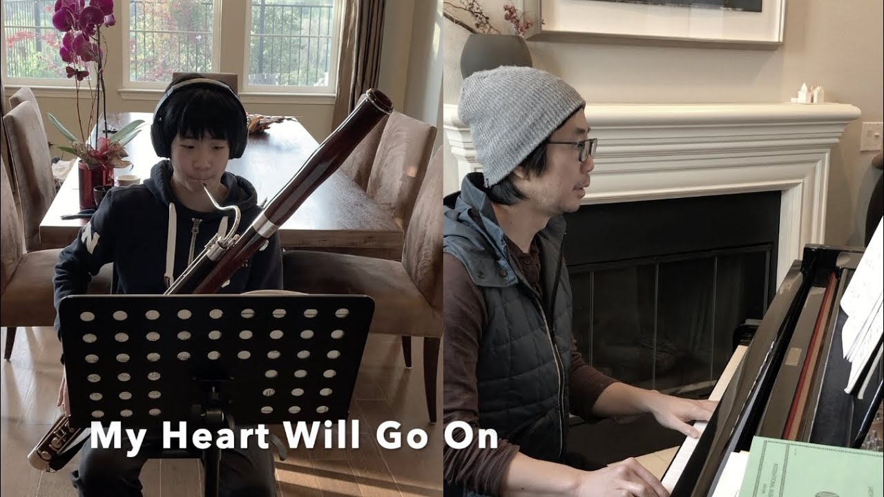 """My Heart Will Go On"" I Bassoon & Piano duet"