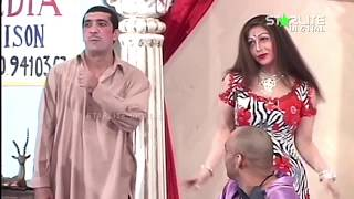 Zafri Khan Sajan Abbas and Zafar Irshad Pakistani Stage Drama Full Comedy Clip