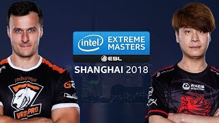 CS:GO - Virtus.Pro vs. TyLoo [Cache] Map 3 - Semifinals - IEM Shanghai at ChinaJoy 2018