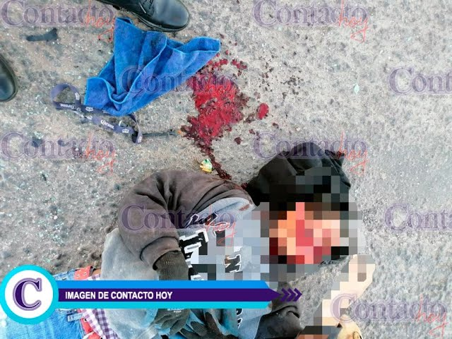 🚨🚨 Grave el motociclista accidentando en carretera a Mezquital y bulevar Río Grande.